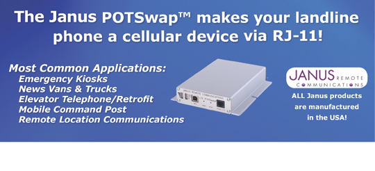 POTS Apps to cellular from HSPA+ and EVDO to LTE